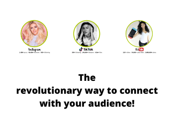 The Revolutionary Way To Connect With Your Audience!