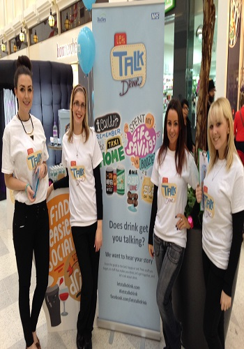 flyering staff for hire at The Arndale Manchester