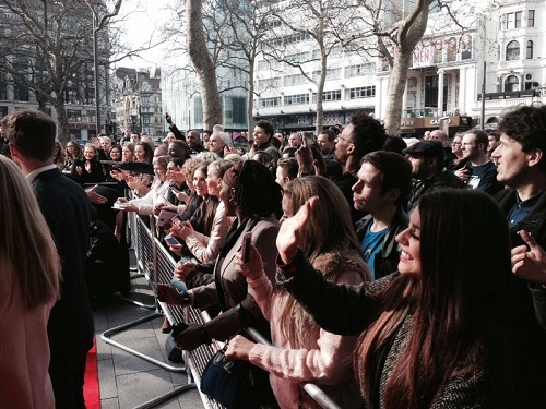 hire a crowd of people for a red carpet event