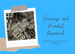 Surveys and Market Research
