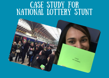 Case Study For National Lottery Stunt