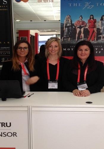 London trade booth registration staff