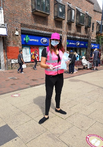 covid secure promotional staff