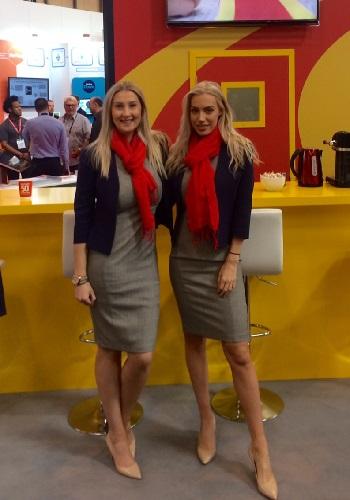 hostesses London trade shows