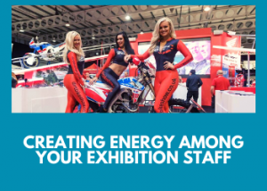 exhibition top tips from Dreams Agency